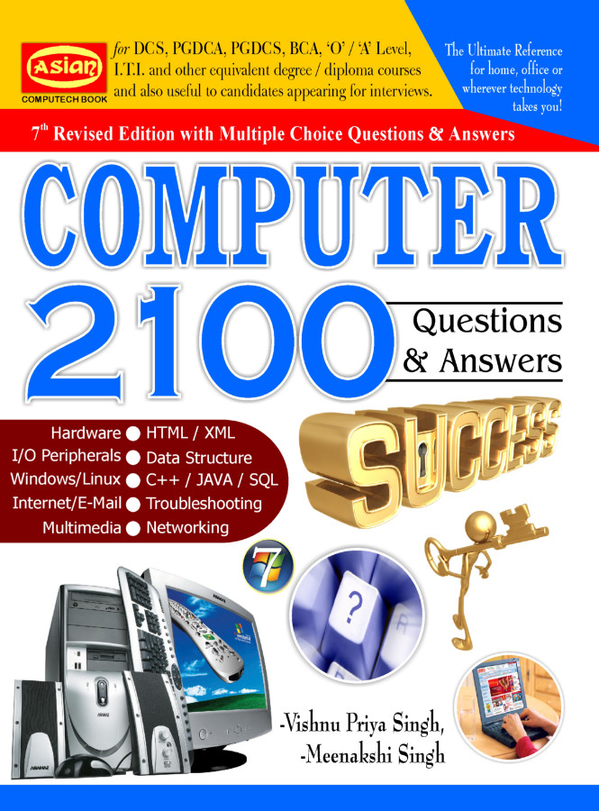 COMPUTER 2100 QUESTIONS-ANSWERS (7th REV  ED )