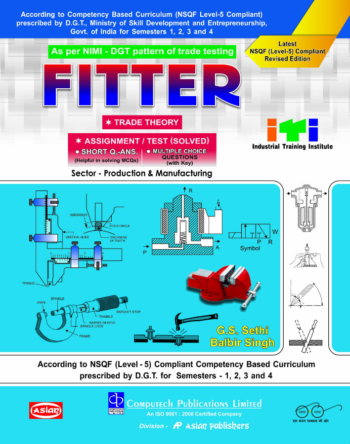 FITTER TRADE THEORY SEM 1 TO 4 (NSQF 5)