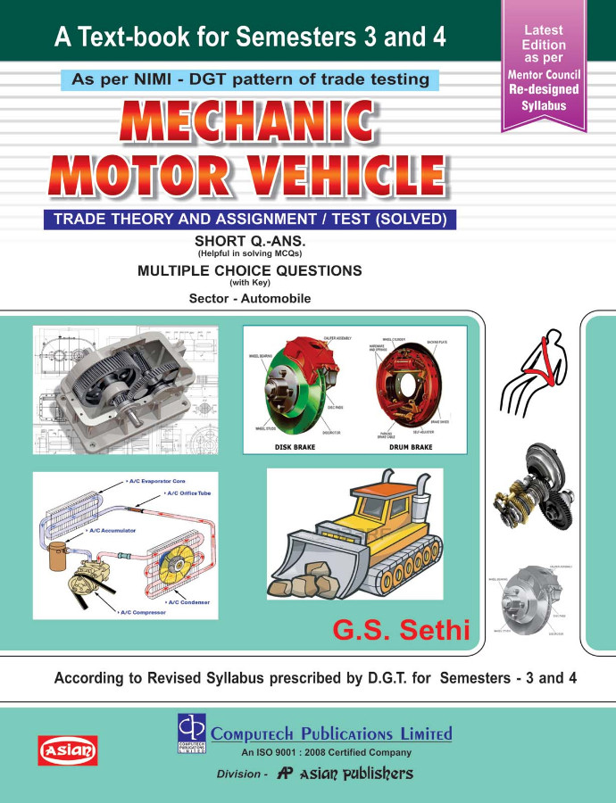 MECHANIC MOTOR VEHICLE THEORY (1st YEAR) (NSQF 5