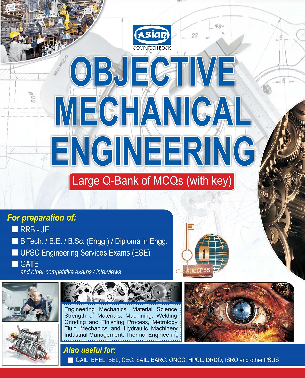 OBJECTIVE MECHANICAL ENGINEERING (Q-BANK OF MCQs)